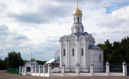 Orthodox russian church Stock Photos