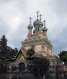 Orthodox. Russian Orthodox Church in Florence, Europe Royalty Free Stock Photo