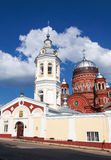 Orthodox russian church. In Russia Stock Photos