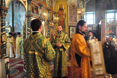Orthodox service. Stock Image