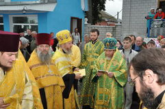 Orthodox service. Stock Photography