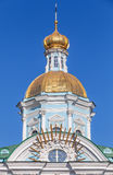 Orthodox St. Nicholas Naval Cathedral, Petersburg Royalty Free Stock Photos