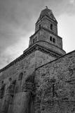 Orthodox stone church. Orthodox church of Densus in Romania Royalty Free Stock Photos