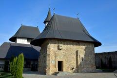 Orthodox stone monastery Stock Images