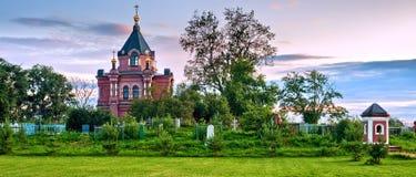 Orthodox temple Stock Photography