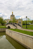 Orthodox temple of the Russian Church in Moscow Royalty Free Stock Images
