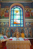 Orthodox Temple of  Saints Cyril and Methodius Royalty Free Stock Images