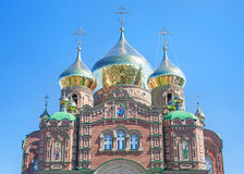 Orthodox temple Stock Photography