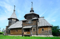 Orthodox wooden church Suzdal Stock Images