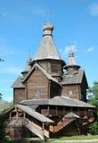 Orthodoxal wooden church Royalty Free Stock Photo