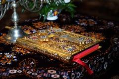 Orthodoxe bijbel stock afbeeldingen