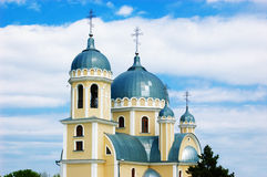 Orthodoxe christelijke kerk Royalty-vrije Stock Afbeeldingen