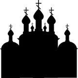 Orthodoxe christelijke kerk Stock Afbeelding