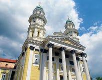 Orthodoxe christelijke kerk in Uzhorod, de Oekraïne stock fotografie