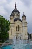 Orthodoxe Dormition van de Theotokos-Kathedraal Cluj-Napoca rom royalty-vrije stock fotografie