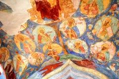Orthodoxe fresko royalty-vrije stock fotografie