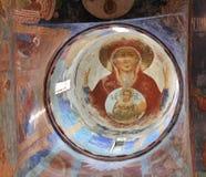 Orthodoxe fresko royalty-vrije stock afbeelding