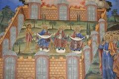 Orthodoxe fresko Stock Afbeelding
