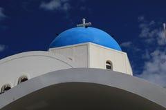 Orthodoxe griechische Kirche Lizenzfreies Stockfoto
