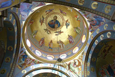 Orthodoxe Griekse kerk Stock Foto