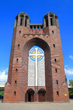 Orthodoxe Heilige Dwarskathedraal in Kaliningrad Royalty-vrije Stock Afbeelding