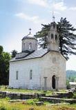 Orthodoxe hofkerk in Cetinje, Montenegro Stock Afbeeldingen