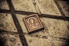 Orthodoxe Ikone aus den Grund Stockfoto