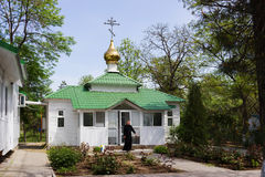 Orthodoxe kapel Royalty-vrije Stock Afbeeldingen