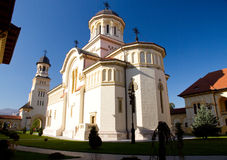 Orthodoxe Kathedraal in Alba Iulia Stock Foto