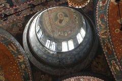 Orthodoxe Kathedraal - binnen kerk 3 Stock Afbeelding