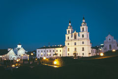 Orthodoxe kathedraal van Heilige Geest in Minsk, Wit-Rusland Stock Foto's