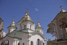 Orthodoxe Kathedraal, Yalta, de Oekraïne Royalty-vrije Stock Foto's