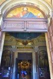 Orthodoxe Kathedraalingang, Sofia, Bulgarije Stock Foto