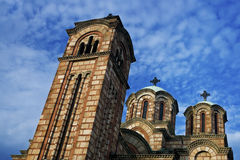 Orthodoxe kerk royalty-vrije stock foto's