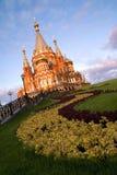 Orthodoxe kerk Stock Afbeelding