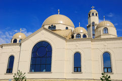 Orthodoxe kerk Royalty-vrije Stock Afbeeldingen
