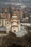 Orthodoxe kerk in Kosovo Stock Foto's