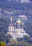 Orthodoxe Kerk in Krimbergen. royalty-vrije stock afbeeldingen