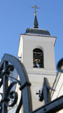 Orthodoxe kerk met klokken Stock Foto