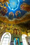 Orthodoxe Kerk ter ere van de Heilige apostelen Peter en Paul CH Royalty-vrije Stock Foto's