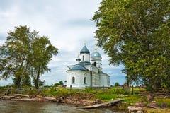 Orthodoxe Kerk ter ere van de Heilige apostelen Peter en Paul CH Royalty-vrije Stock Fotografie