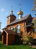 Orthodoxe kerk van het Kostomłde oty Oosten, Polen royalty-vrije stock foto