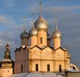 Orthodoxe Kerk van Rostov het Kremlin Royalty-vrije Stock Afbeeldingen