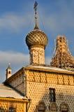 Orthodoxe Kerk van Rostov het Kremlin Stock Afbeeldingen