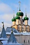 Orthodoxe Kerk van Rostov het Kremlin Royalty-vrije Stock Foto