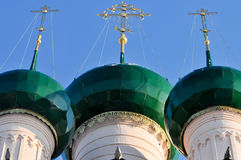 Orthodoxe Kerk van Rostov het Kremlin Royalty-vrije Stock Afbeelding