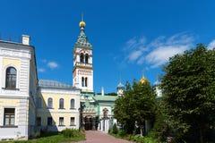Orthodoxe Kerk van Sinterklaas in Rogozhskaya Sloboda in Moskou, Rusland Royalty-vrije Stock Afbeelding