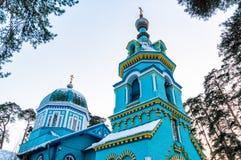 Orthodoxe kerk van St. Grote Hertog, Jurmala Royalty-vrije Stock Fotografie