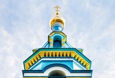 Orthodoxe kerk van St Grote Hertog, Jurmala Royalty-vrije Stock Afbeeldingen