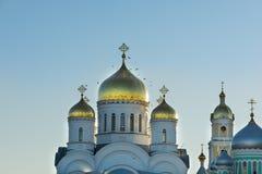 Orthodoxe kerken in Rusland Royalty-vrije Stock Foto's